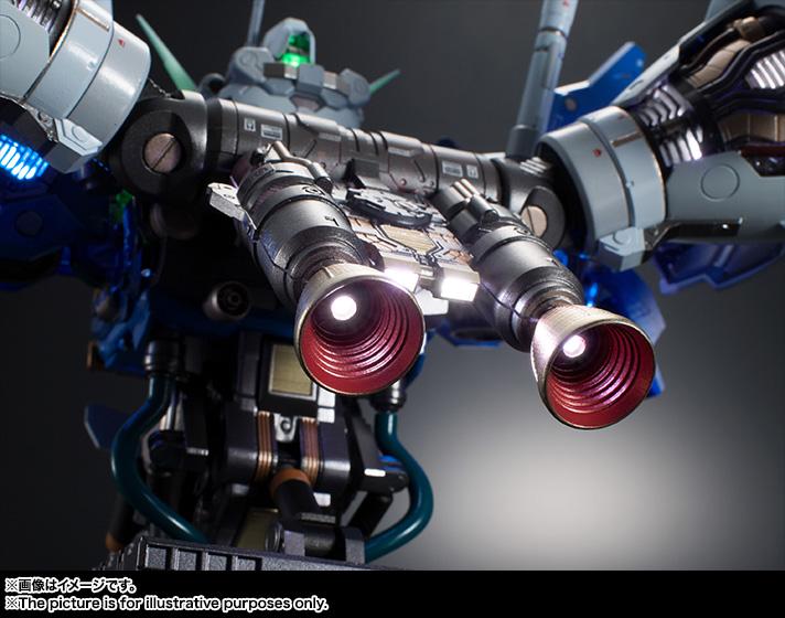 FORMANIA EX『ガンダム試作1号機 フルバーニアン』完成品フィギュア-017
