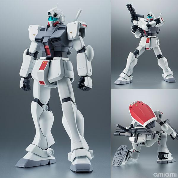 ROBOT魂 〈SIDE MS〉『RGM-79D ジム寒冷地仕様 ver. A.N.I.M.E.|機動戦士ガンダム0080 ポケットの中の戦争』可動フィギュア