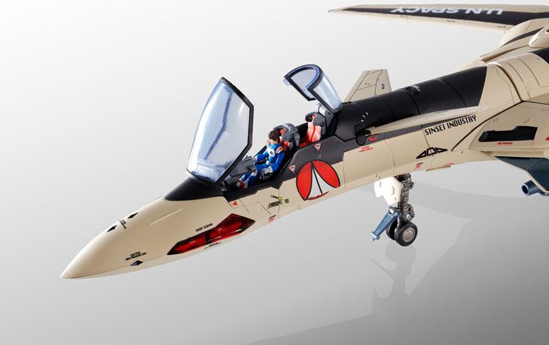 DX超合金『YF-19 フルセットパック マクロスプラス』可動フィギュア-005