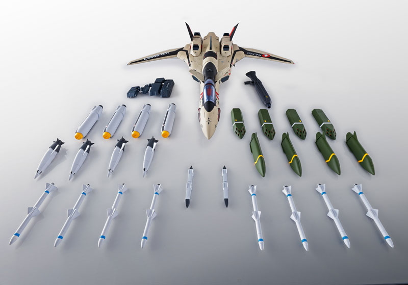 DX超合金『YF-19 フルセットパック マクロスプラス』可動フィギュア-008