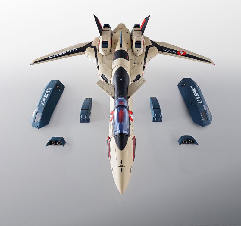 DX超合金『YF-19 フルセットパック マクロスプラス』可動フィギュア-009