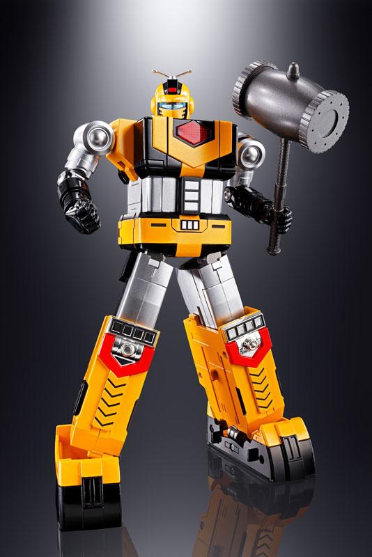 超合金魂 GX-60R『宇宙大帝ゴッドシグマ(リニューアルバージョン) |宇宙大帝ゴッドシグマ』合体変形可動フィギュア-006