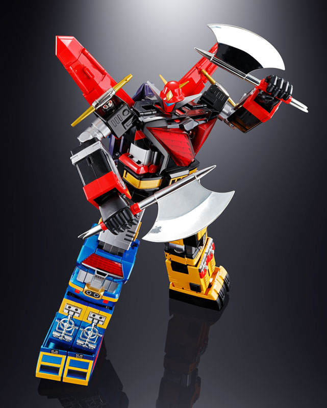 超合金魂 GX-60R『宇宙大帝ゴッドシグマ(リニューアルバージョン) |宇宙大帝ゴッドシグマ』合体変形可動フィギュア-016