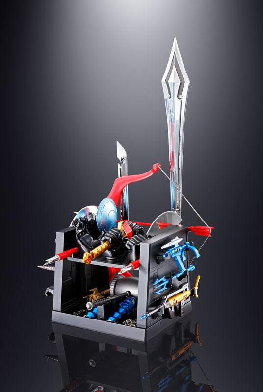 超合金魂 GX-60R『宇宙大帝ゴッドシグマ(リニューアルバージョン) |宇宙大帝ゴッドシグマ』合体変形可動フィギュア-021