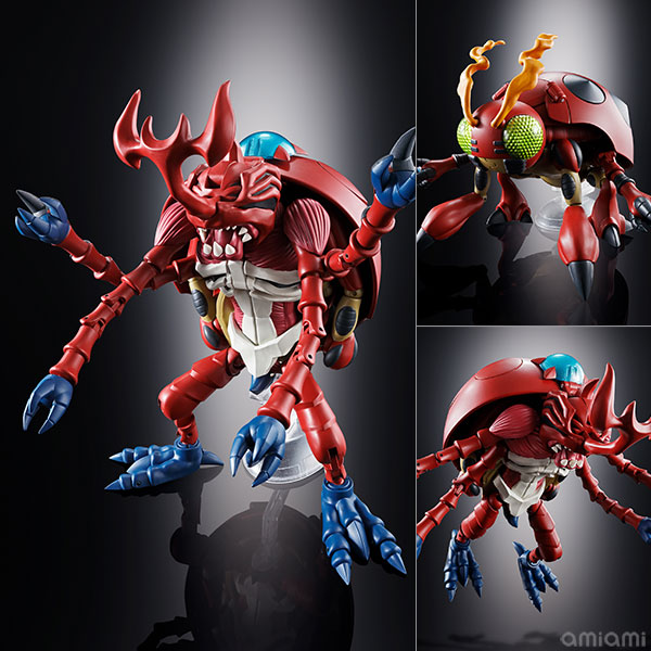 超進化魂 06『アトラーカブテリモン|デジモンアドベンチャー』可変可動フィギュア