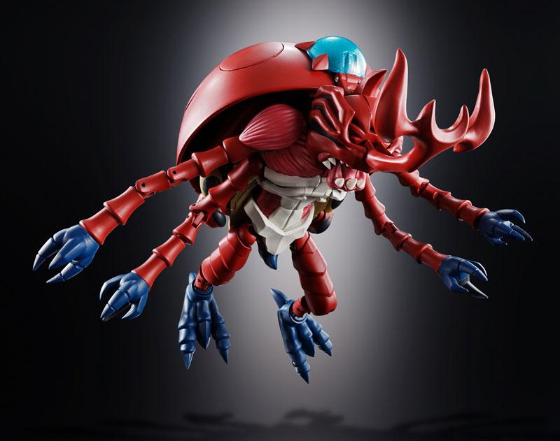 超進化魂 06『アトラーカブテリモン デジモンアドベンチャー』可変可動フィギュア-003