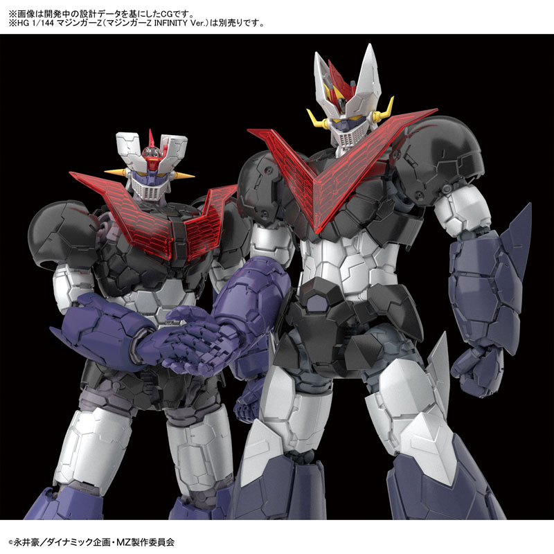 HG 1/144『グレートマジンガー(マジンガーZ INFINITY Ver.)』プラモデル-006