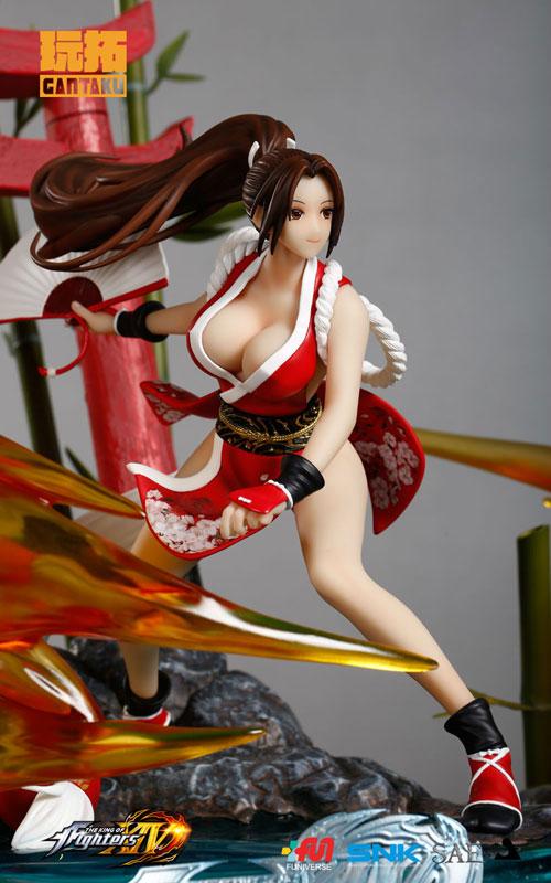 ザ・キング・オブ・ファイターズ XIV『不知火舞』1/6スケール スタチュー-003