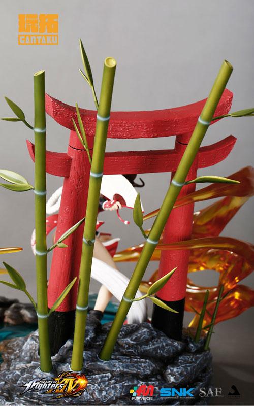 ザ・キング・オブ・ファイターズ XIV『不知火舞』1/6スケール スタチュー-012