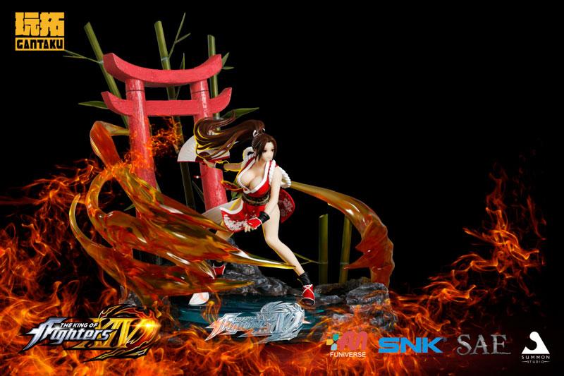 ザ・キング・オブ・ファイターズ XIV『不知火舞』1/6スケール スタチュー-015