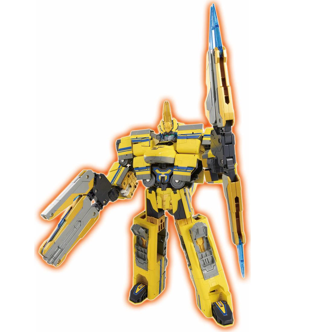 新幹線変形ロボ シンカリオン『DXS11 シンカリオン ドクターイエロー』可変可動プラレール-004