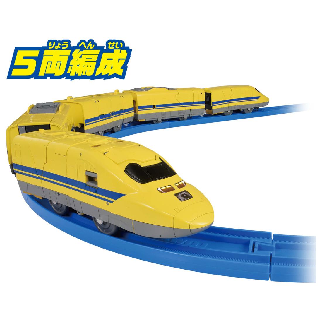 新幹線変形ロボ シンカリオン『DXS11 シンカリオン ドクターイエロー』可変可動プラレール-009
