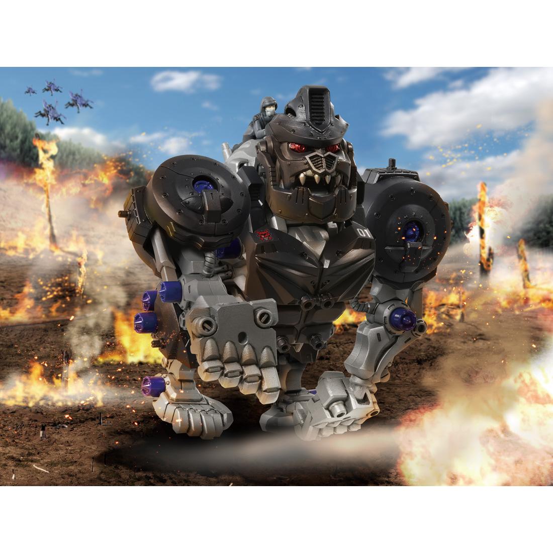ZOIDS『ZW10 ナックルコング|ゾイドワイルド』組立キット-006