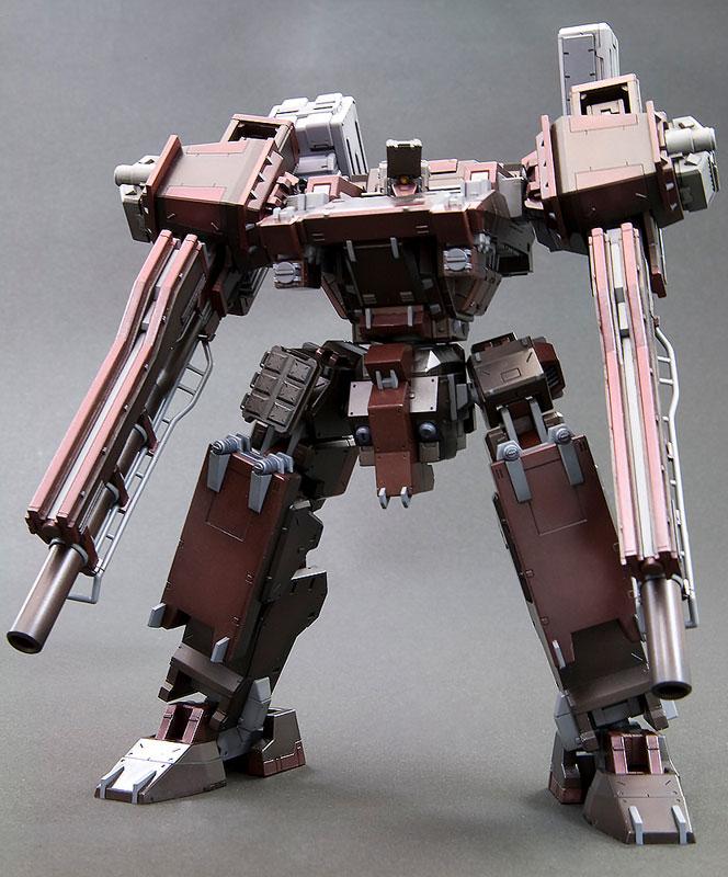【再販】V.I.シリーズ『アーマード・コア GA GAN01-SUNSHINE-E フィードバック』1/72 プラモデル-004