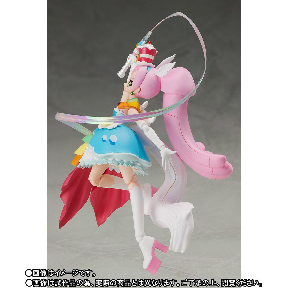 S.H.フィギュアーツ『キュアパルフェ』可動フィギュア-006