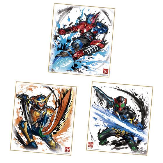 【食玩】『仮面ライダー 色紙ART』10個入りBOX