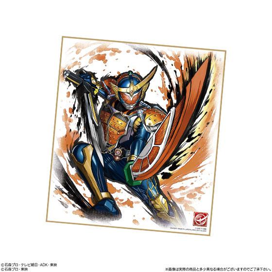 【食玩】『仮面ライダー 色紙ART』10個入りBOX-002