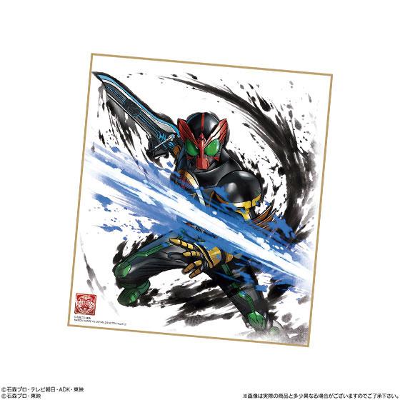 【食玩】『仮面ライダー 色紙ART』10個入りBOX-003