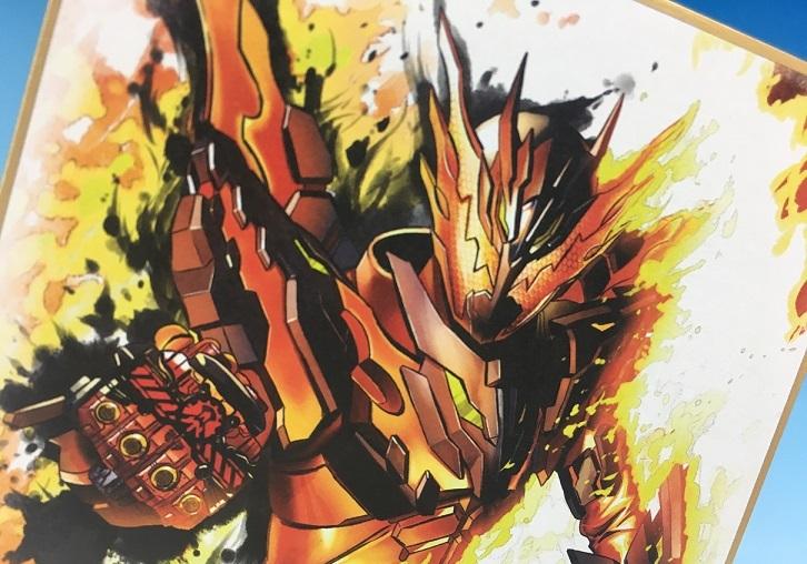 【食玩】『仮面ライダー 色紙ART』10個入りBOX-011