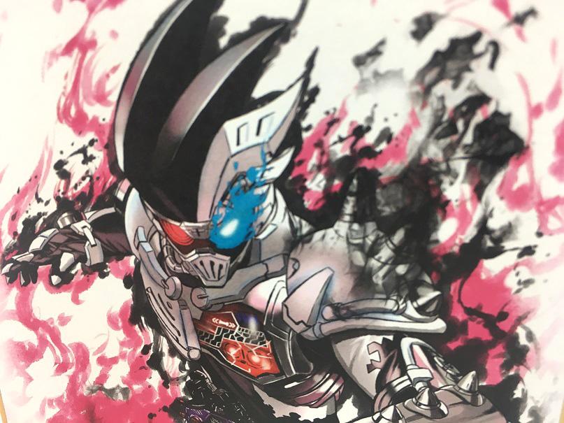 【食玩】『仮面ライダー 色紙ART』10個入りBOX-013
