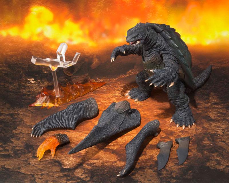 S.H.MonsterArts『ガメラ(1999)|ガメラ3 邪神〈イリス〉覚醒』可動フィギュア-007