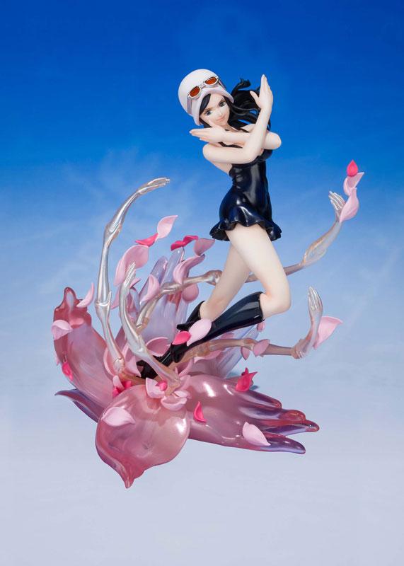 フィギュアーツZERO『ニコ・ロビン -千紫万紅花畑(ミル・フルール カンポ・デ・フローレス) ワンピース』完成品フィギュア-001