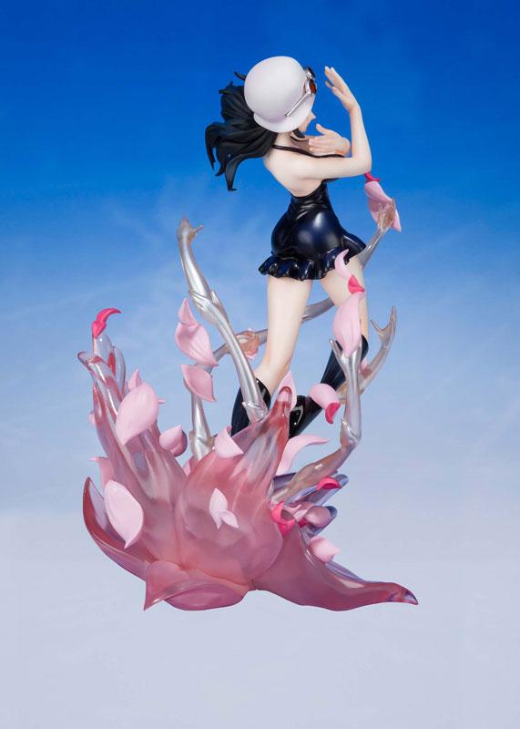 フィギュアーツZERO『ニコ・ロビン -千紫万紅花畑(ミル・フルール カンポ・デ・フローレス) ワンピース』完成品フィギュア-003