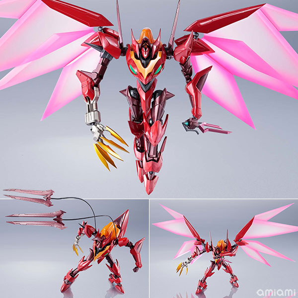METAL ROBOT魂『コードギアス <SIDE KMF> 紅蓮聖天八極式』可動フィギュア