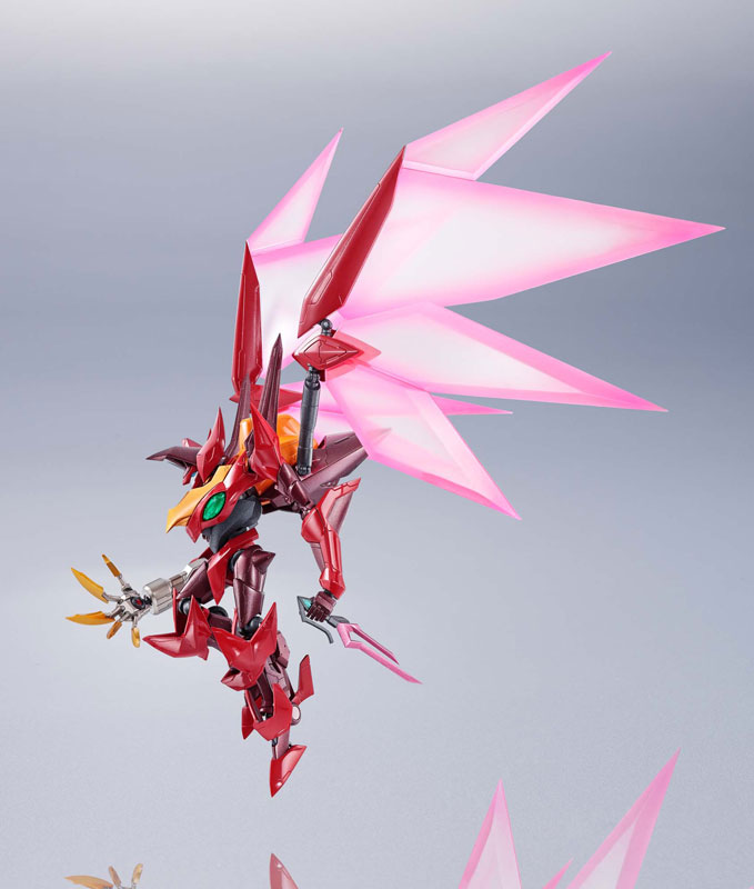 METAL ROBOT魂『コードギアス|<SIDE KMF> 紅蓮聖天八極式』可動フィギュア-005