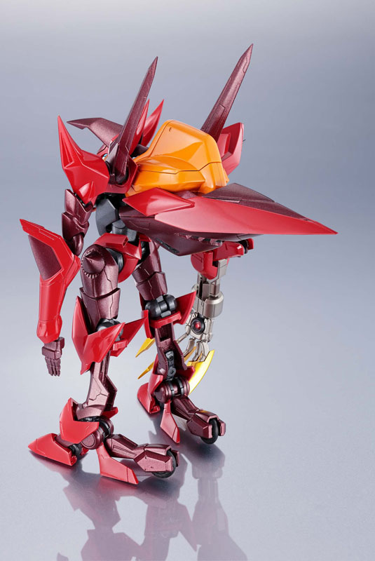 METAL ROBOT魂『コードギアス <SIDE KMF> 紅蓮聖天八極式』可動フィギュア-009