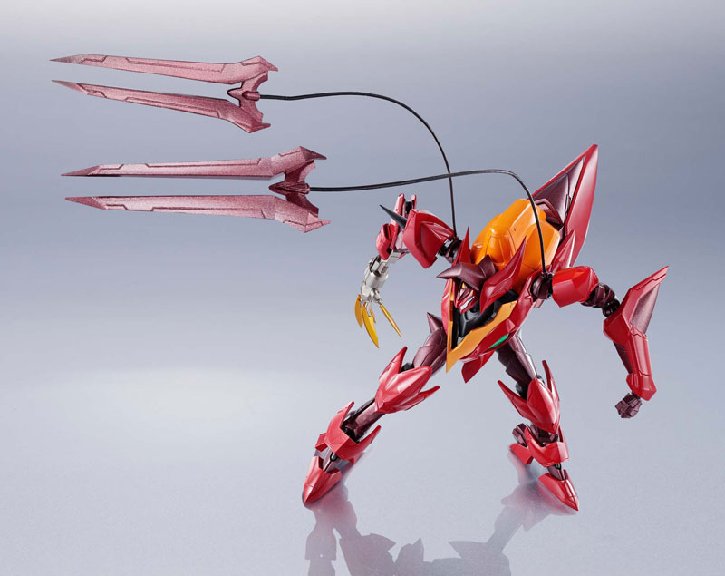 METAL ROBOT魂『コードギアス|<SIDE KMF> 紅蓮聖天八極式』可動フィギュア-013