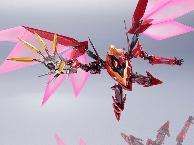 METAL ROBOT魂『コードギアス|<SIDE KMF> 紅蓮聖天八極式』可動フィギュア-015