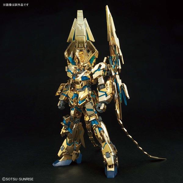HGUC 1/144『ユニコーンガンダム3号機 フェネクス(デストロイモード)(ナラティブVer.)[ゴールドコーティング] |機動戦士ガンダムNT』プラモデル