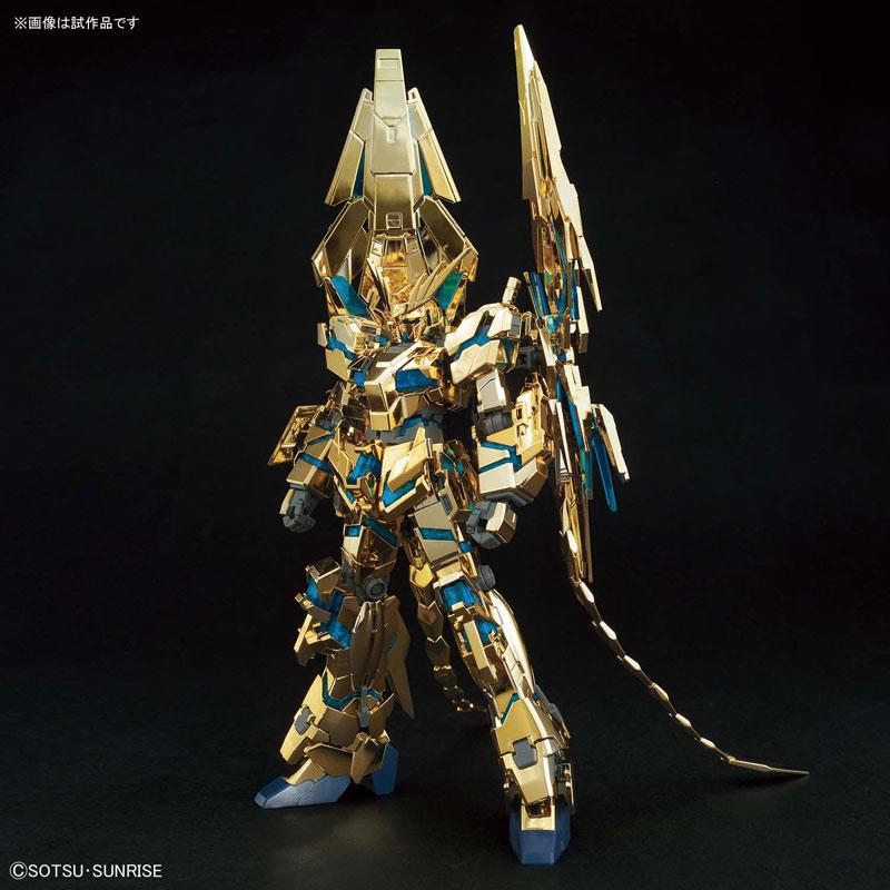 HGUC 1/144『ユニコーンガンダム3号機 フェネクス(デストロイモード)(ナラティブVer.)[ゴールドコーティング] |機動戦士ガンダムNT』プラモデル-001