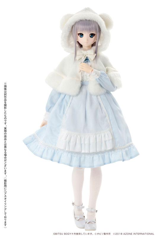 アゾン50cmオリジナルドール『Iris Collect かの / Lovely snows ~いとしい雪たち~』完成品ドール-001