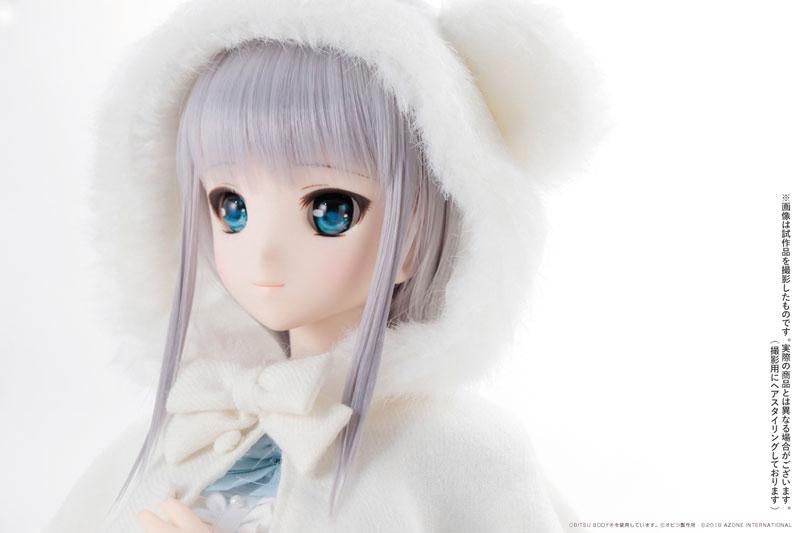 アゾン50cmオリジナルドール『Iris Collect かの / Lovely snows ~いとしい雪たち~』完成品ドール-009
