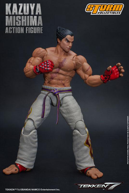 鉄拳7『三島一八』可動フィギュア-002