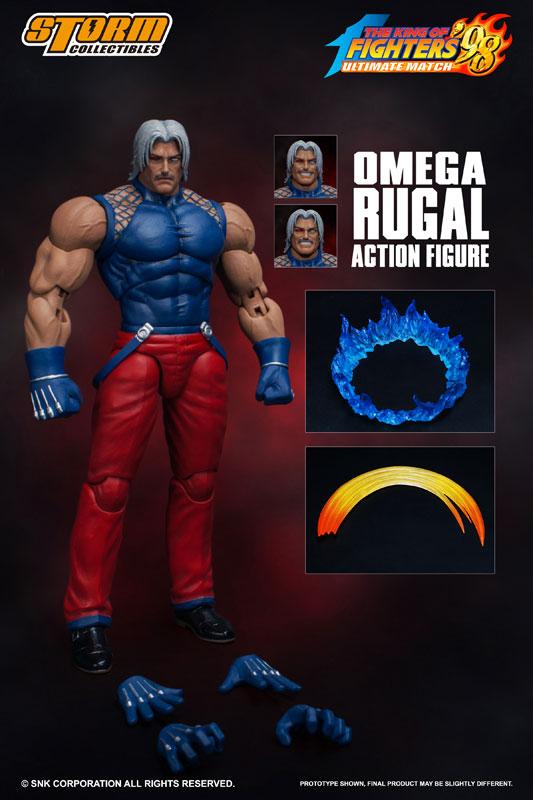 ザ・キング・オブ・ファイターズ '98 アルティメットマッチ アクションフィギュア『オメガ・ルガール』可動フィギュア-001