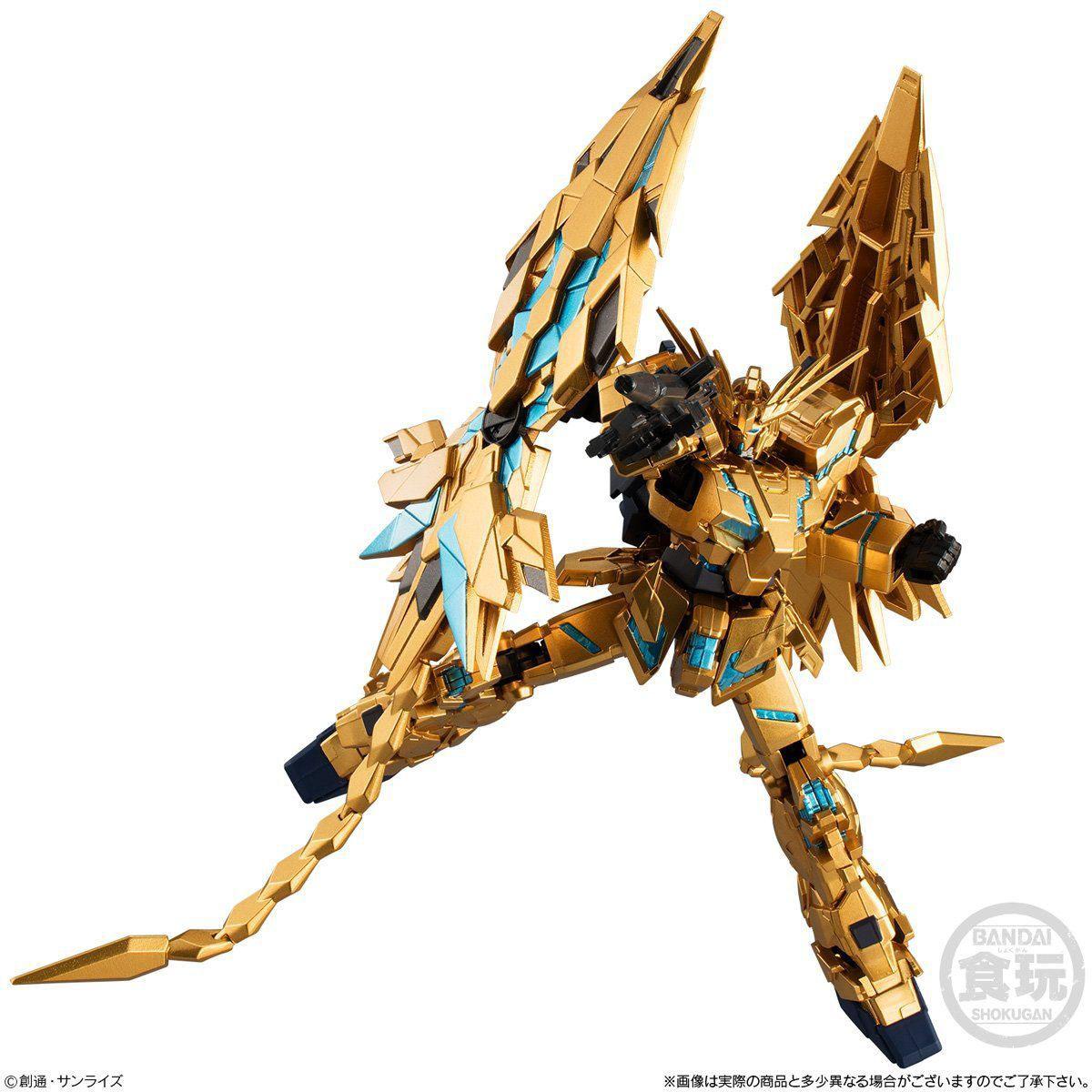 Gフレーム『ユニコーンガンダム3号機 フェネクス|デストロイモード(ナラティブver.)』食玩 可動フィギュア-001