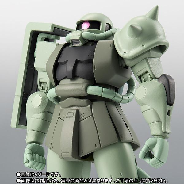 ROBOT魂 〈SIDE MS〉『MS-06 量産型ザク ver. A.N.I.M.E.~ファーストタッチ2500~|機動戦士ガンダム』可動フィギュア