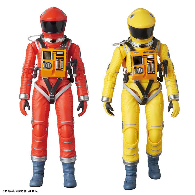 マフェックス No.034『SPACE SUIT ORANGE Ver.』2001:A Space Odyssey 可動フィギュア-008