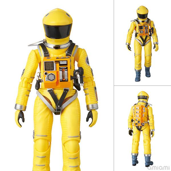 マフェックス No.035『SPACE SUIT YELLOW Ver.』2001:A Space Odyssey 可動フィギュア