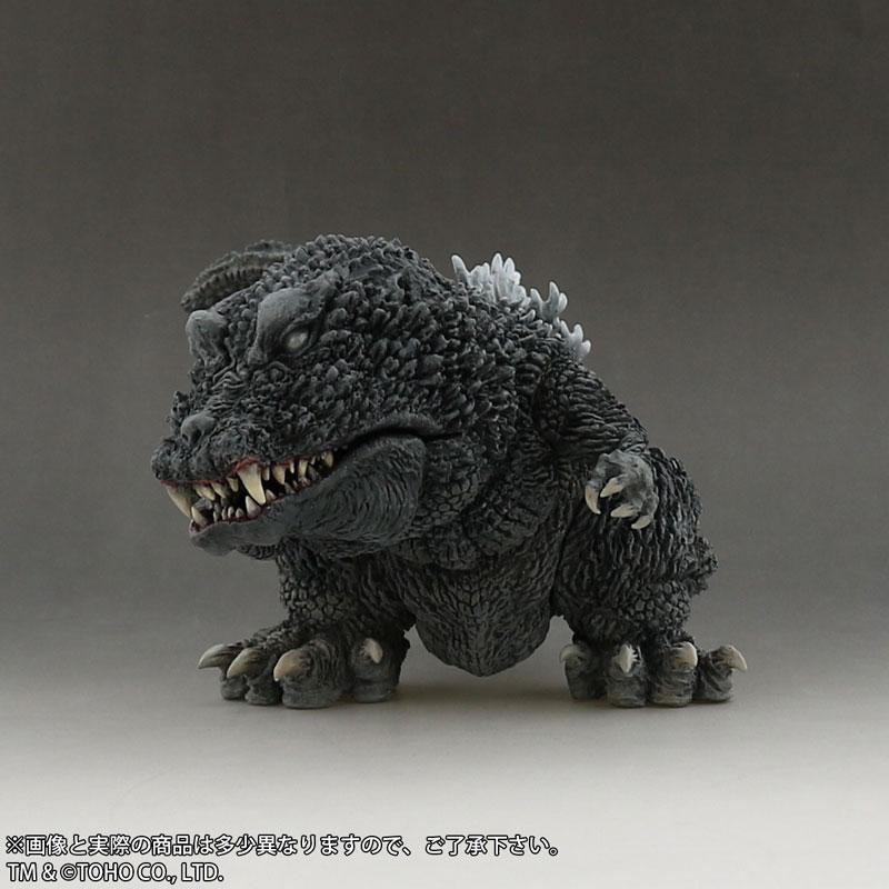 デフォリアル『ゴジラ(2001)』完成品フィギュア-004