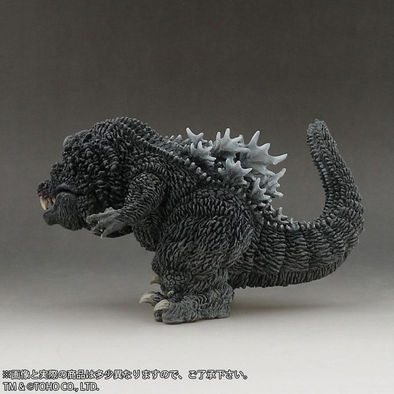 デフォリアル『ゴジラ(2001)』完成品フィギュア-005