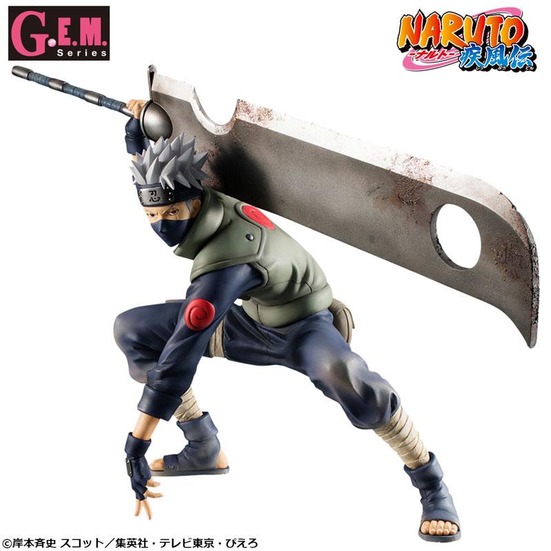G.E.M.シリーズ『NARUTO-ナルト- 疾風伝 はたけカカシ 忍界大戦Ver.』完成品フィギュア-001