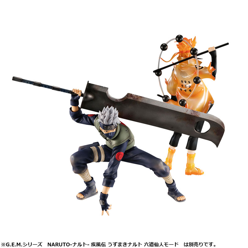 G.E.M.シリーズ『NARUTO-ナルト- 疾風伝|はたけカカシ 忍界大戦Ver.』完成品フィギュア-008