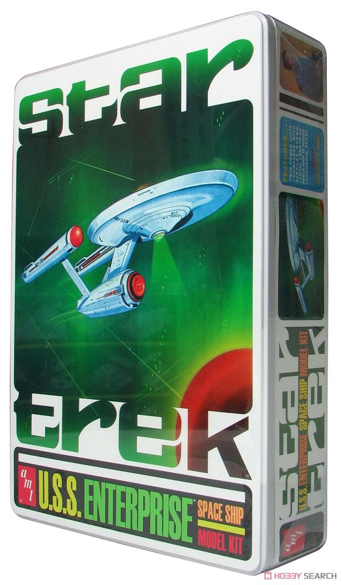 宇宙大作戦『U.S.S. エンタープライズ  限定パッケージ NCC-1701 ウインドウディテールアップテンプレート付属ver.』1/650 プラモデル-001