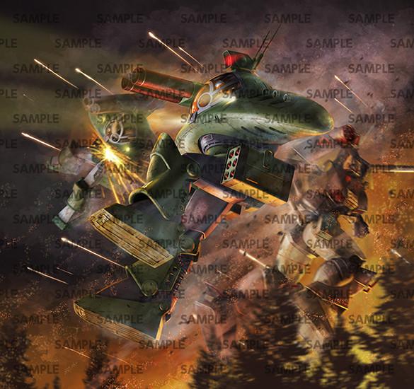 COMBAT ARMORS MAX13『サバロフ AG9 ニコラエフ』太陽の牙 ダグラム 1/72 プラモデル-007