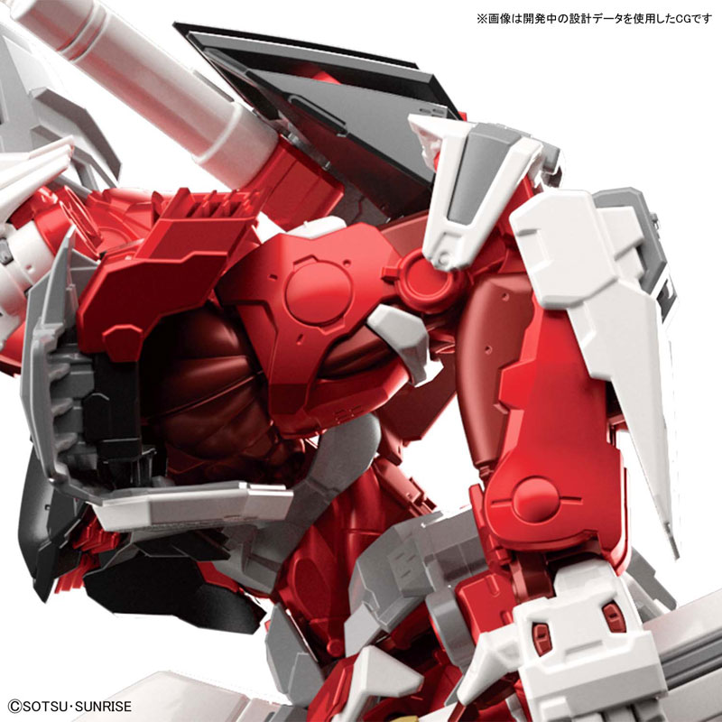 ハイレゾリューションモデル『ガンダムアストレイ レッドフレーム|機動戦士ガンダムSEED ASTRAY』1/100 プラモデル-008