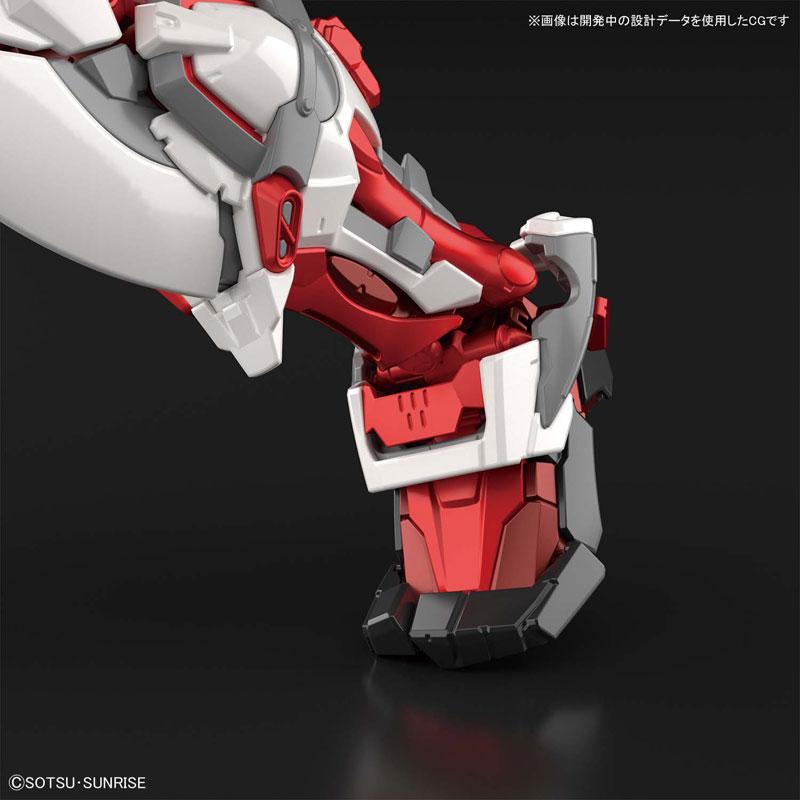 ハイレゾリューションモデル『ガンダムアストレイ レッドフレーム 機動戦士ガンダムSEED ASTRAY』1/100 プラモデル-010